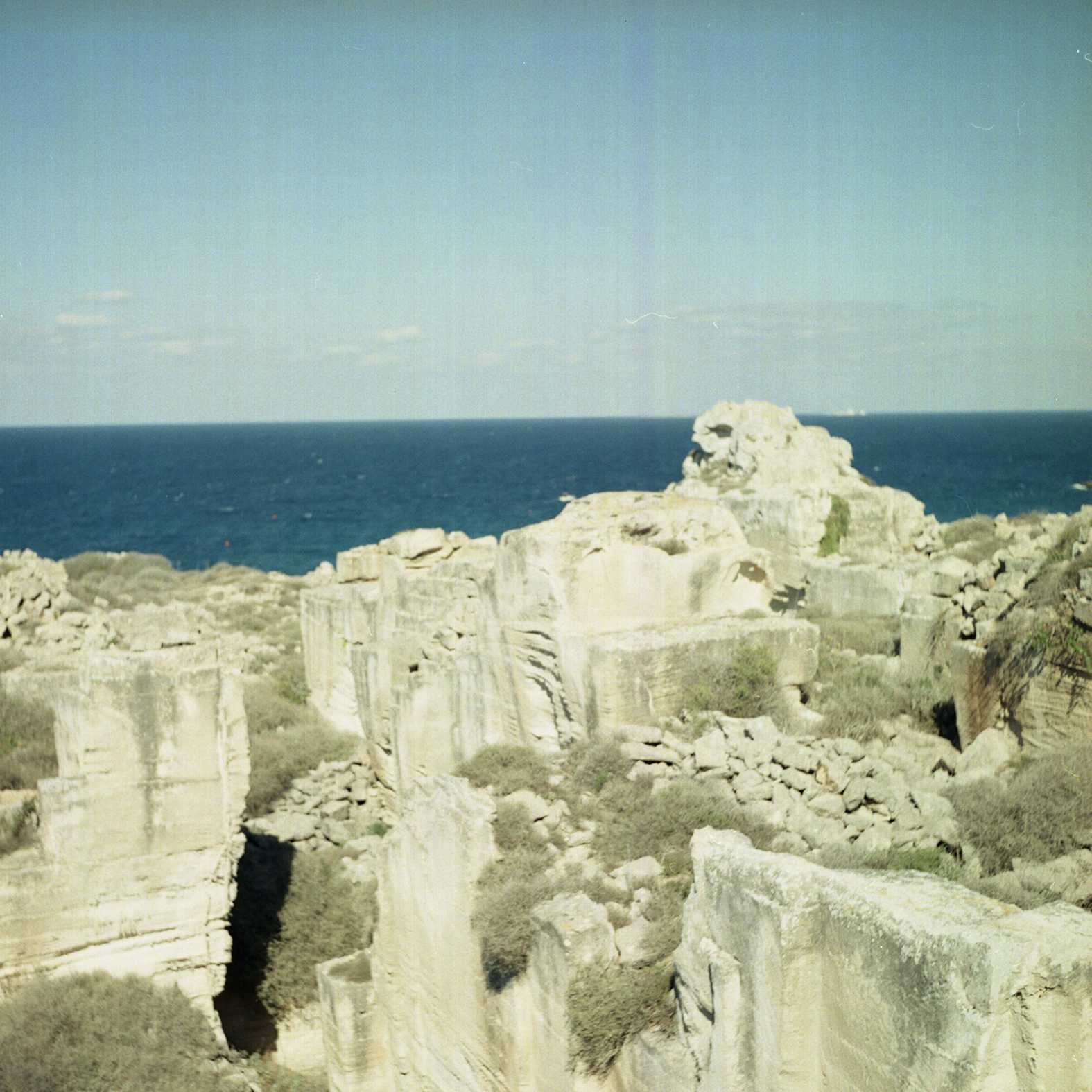 Camera: Yashica Mat-124G  Film: Lomography CN 400  Location: Favignana, Egadi Islands, Italy