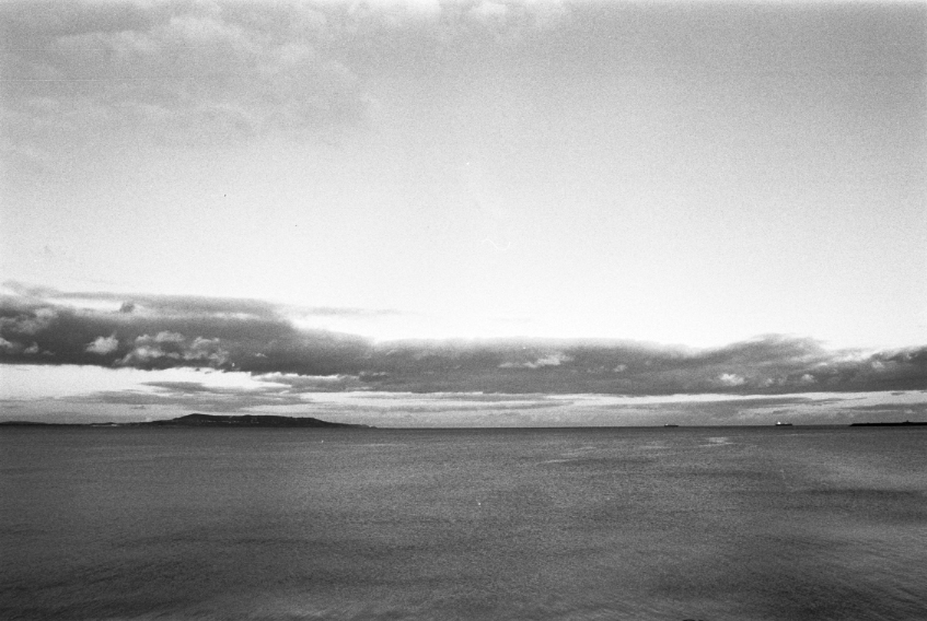 Camera: Canon EOS 300  Film: Lomography Earl Grey B&W 100  Location: Dublin Bay, Ireland