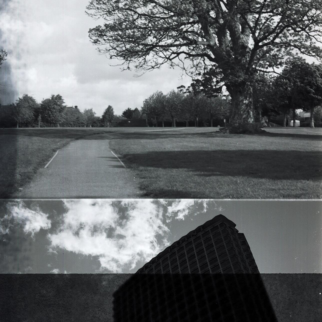 Camera: Hasselblad 500C/M  Film: Ilford Delta 100 Pro  Location: Dublin, Ireland / London, England