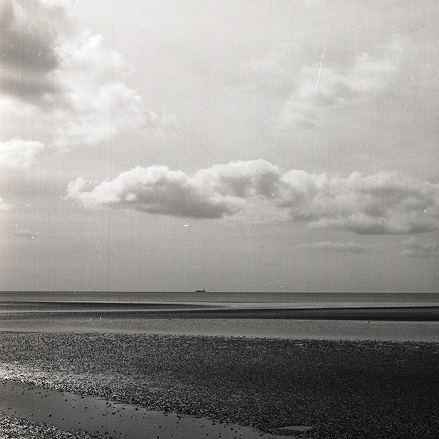 Camera: Hasselblad 500C/M  Film: Ilford Delta 100 Pro  Location: Dublin Bay, Ireland