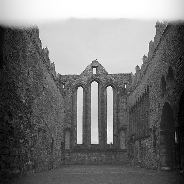 Camera: Hasselblad 500C/M  Film: Ilford XP2 Super  Location: Ardfert Cathedral, Co Kerry, Ireland