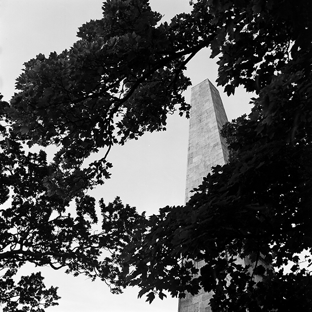 Camera: Hasselblad 500C/M  Film: Ilford Pan F+ 50  Location: The Obelisk, Stillorgan, Co Dublin, Ireland