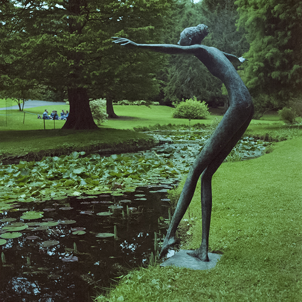 Toe in the Water - Sculpture in Context, 2013