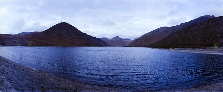 Camera: Horizon Perfekt  Film: Fujifilm CN 200  Location: Silent Valley, Mourne Mountains, Co Down, Northern Ireland