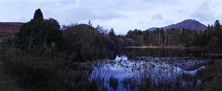 Camera: Horizon Perfekt  Film: Fujifilm CN 200  Location: Mourne Mountains, Co Down, Northern Ireland