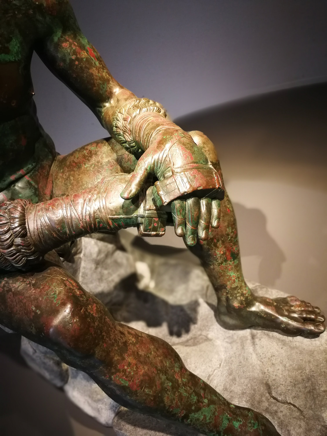 Boxer at Rest, National Museum of Rome