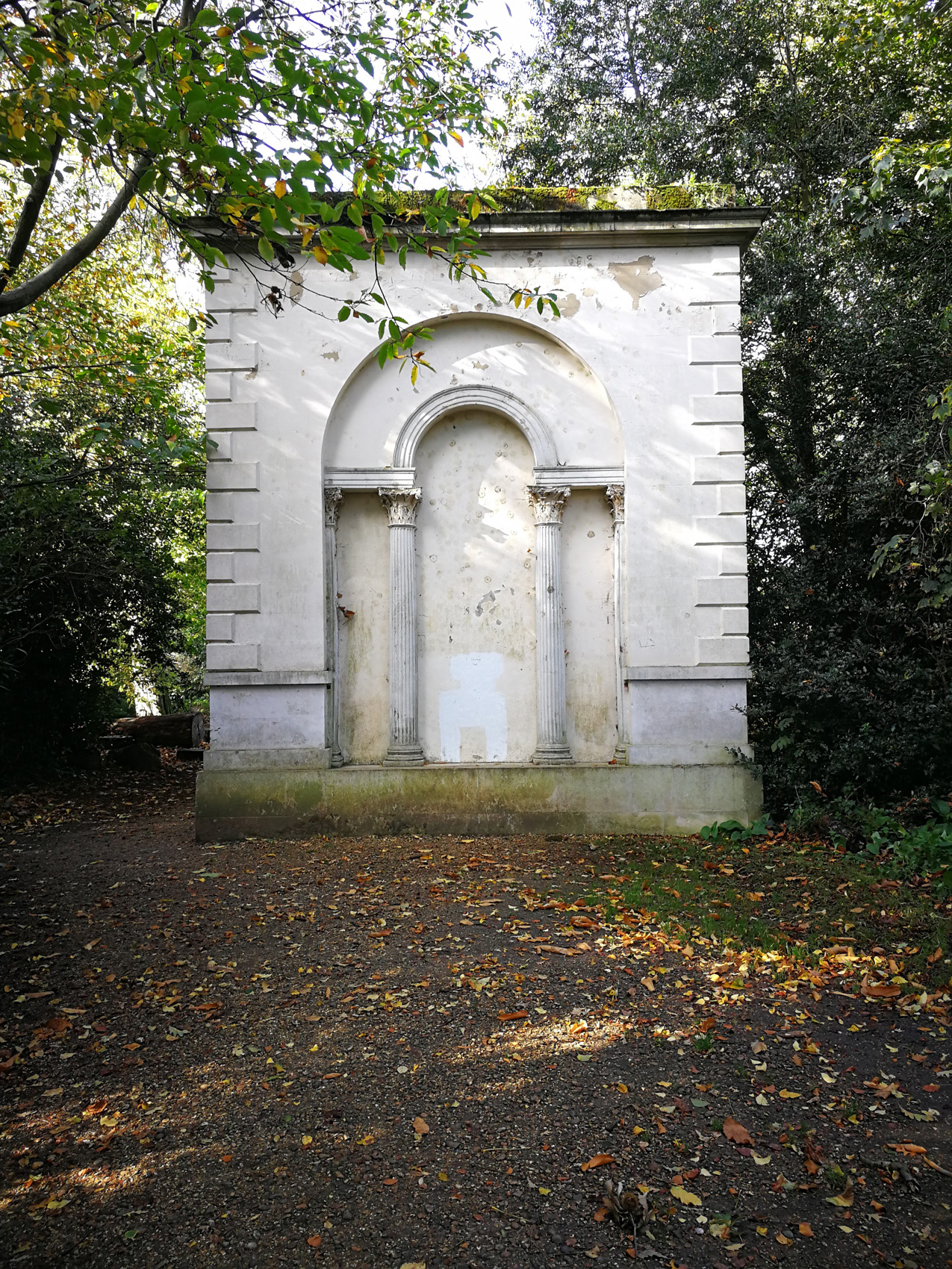 Chiswick House & Gardens, Screen