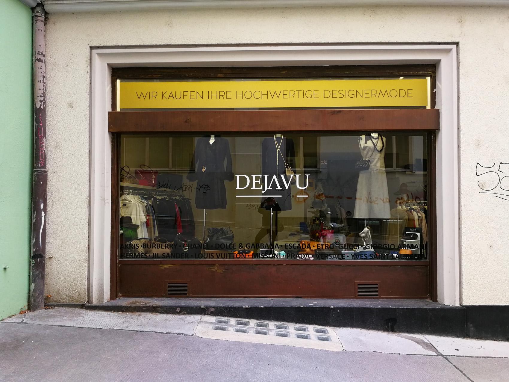 Vintage clothing boutique in Vienna