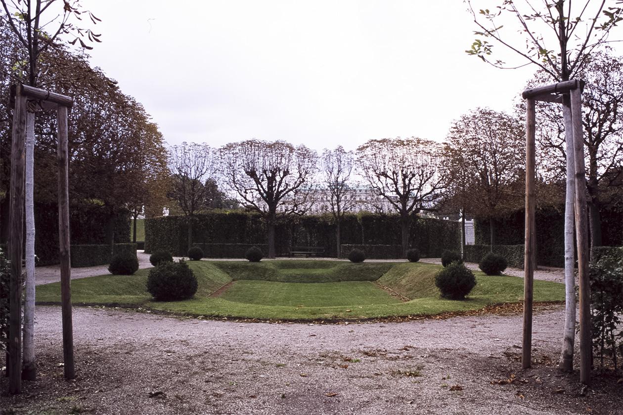 Belvedere Palace Park