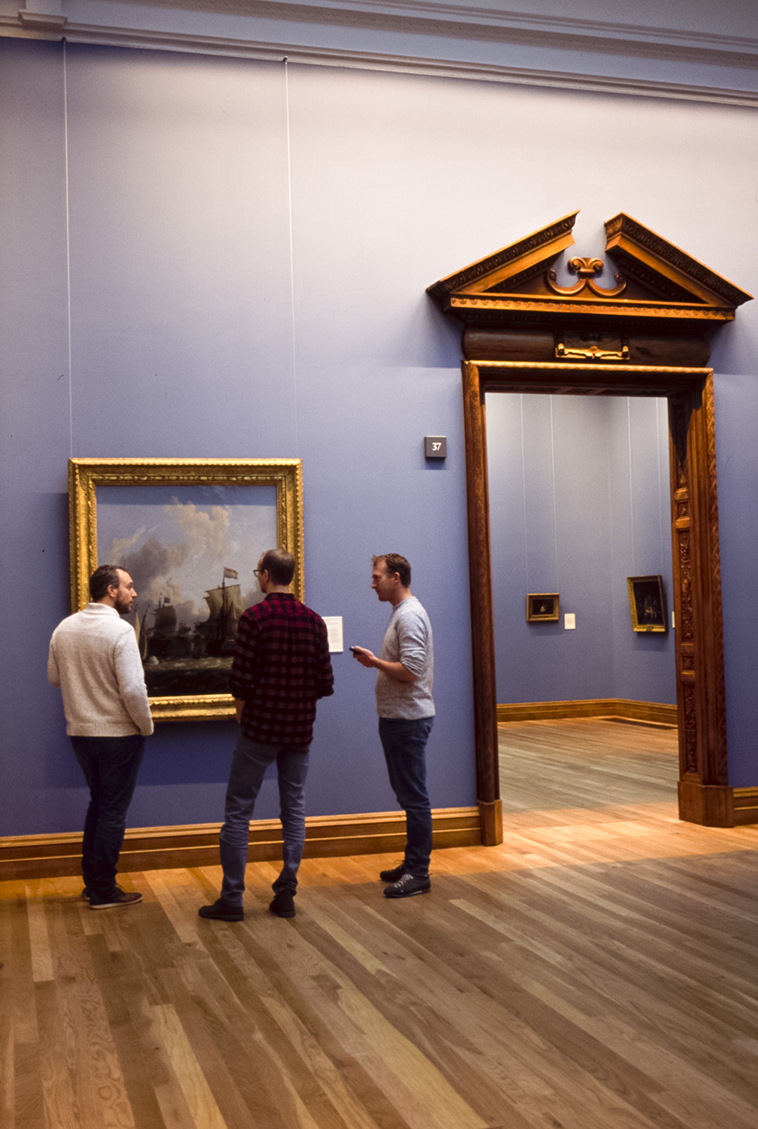 At the National Gallery of Ireland, Dublin