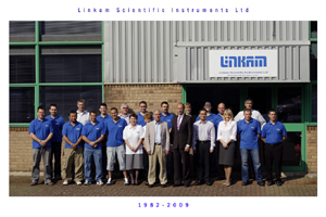 Linkam Scientific Instruments, celebrating 27th year in business, 2009