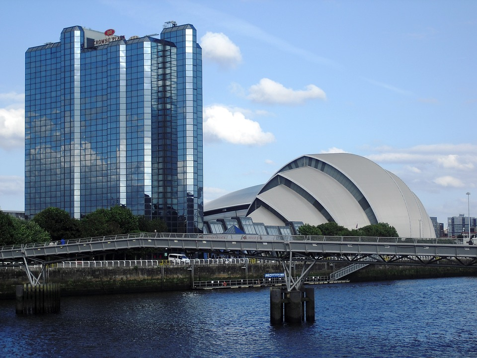A view of the SECC in Glasgow where the four day event was held