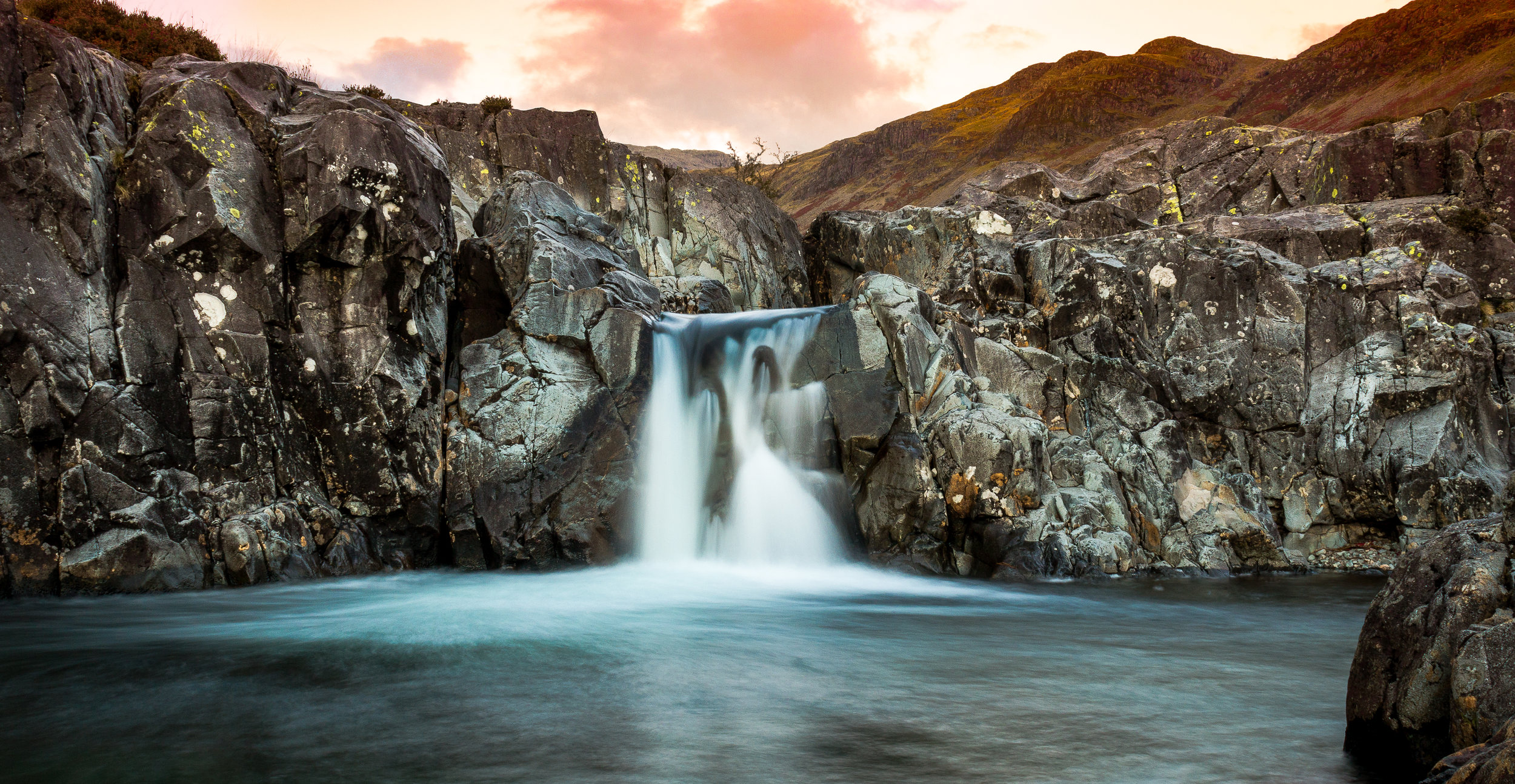 Eskdale Waterfall