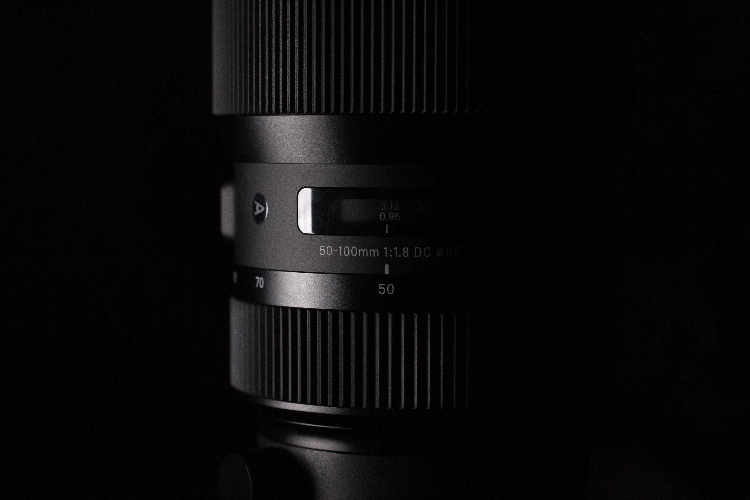 Sigma 50-100 F1.8 HSM Art