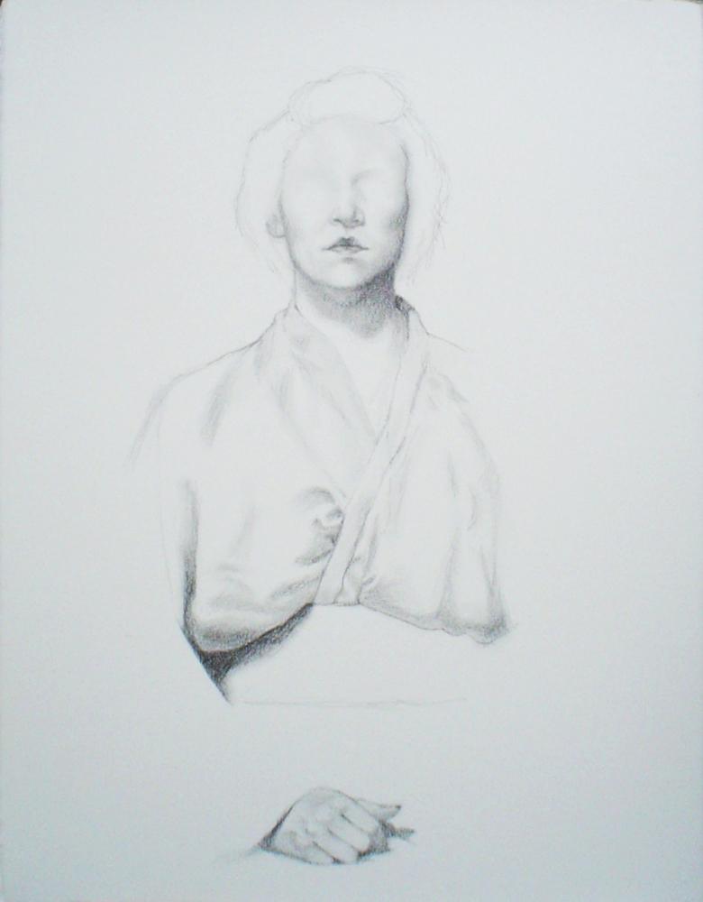 solar flare 3 drawing graphite pencil self portrait.JPG