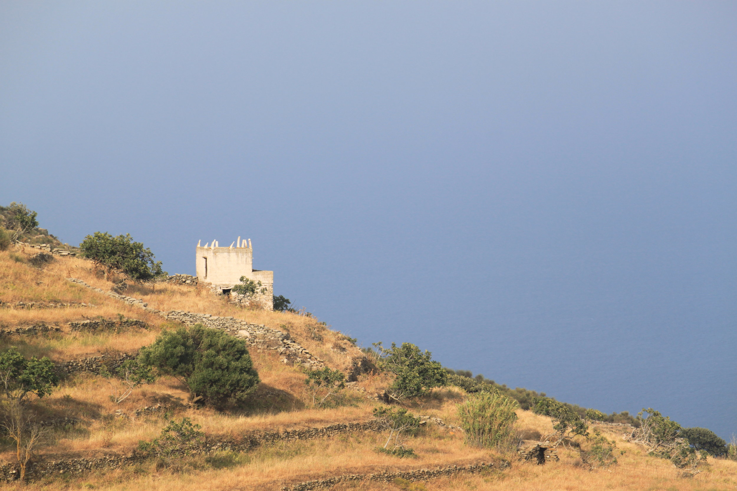 The island of Tinos.