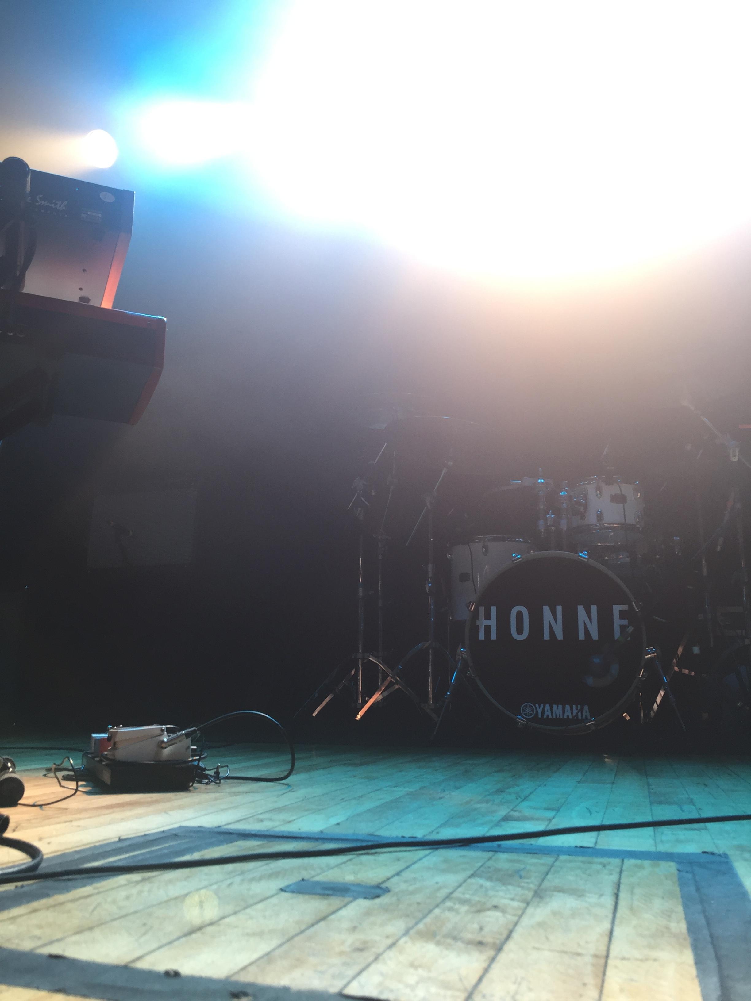 HONNE performing 10.05.2016 @ Warsaw in Brooklyn, NY.