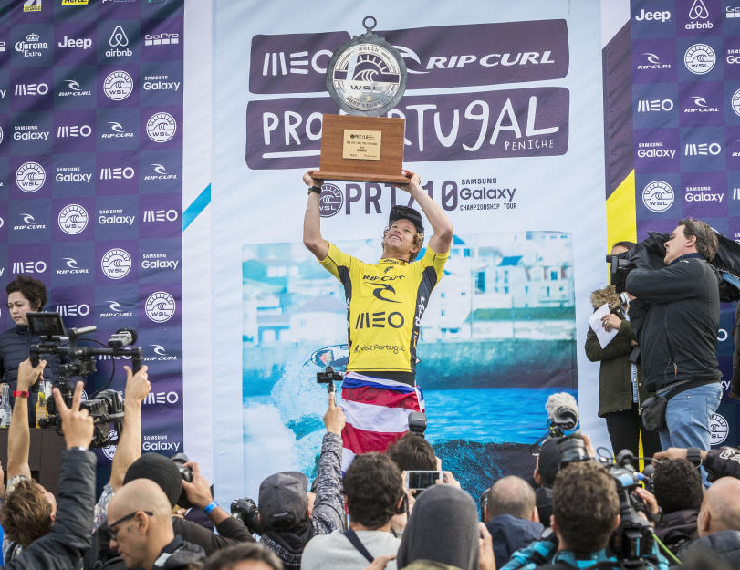 John John Florence 2016 MEO Portugal Pro Victory and World Title Champion