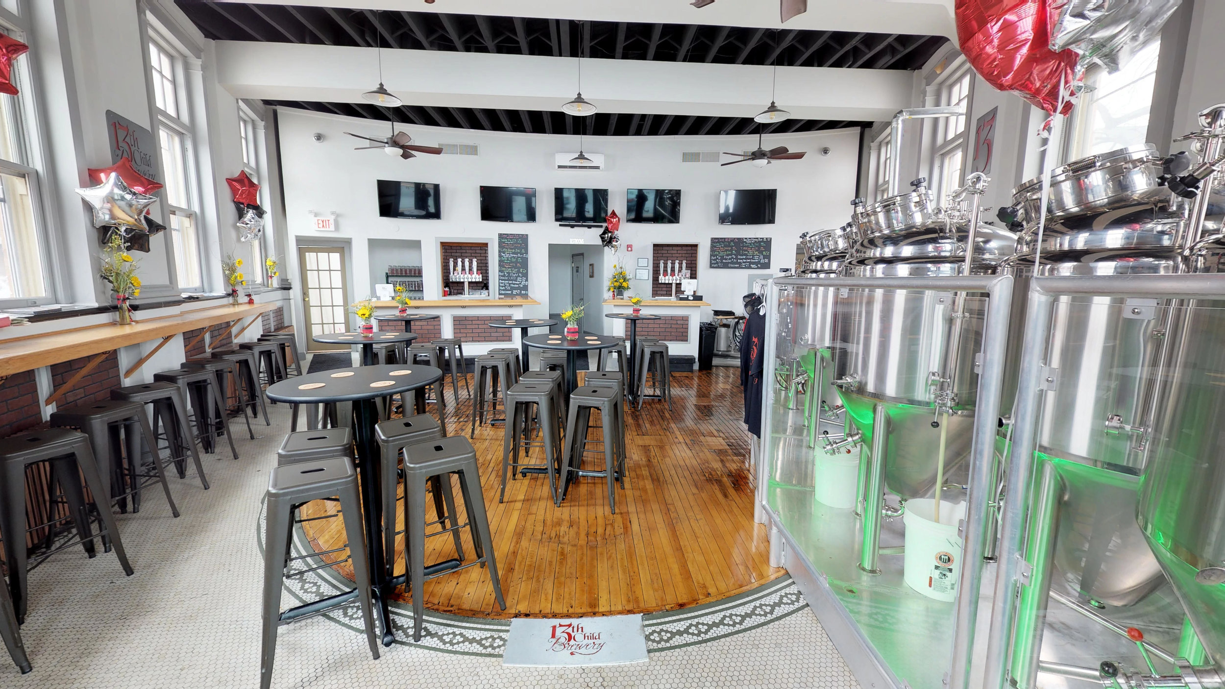13TH CHILD BREWERY — Dauntless Design Collaborative | Williamstown NJ