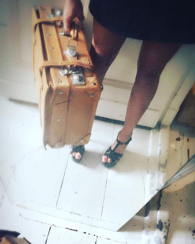 A suitcase full of fun. #companion #courtesan #professionalgirlfriend #curator of #pleasure