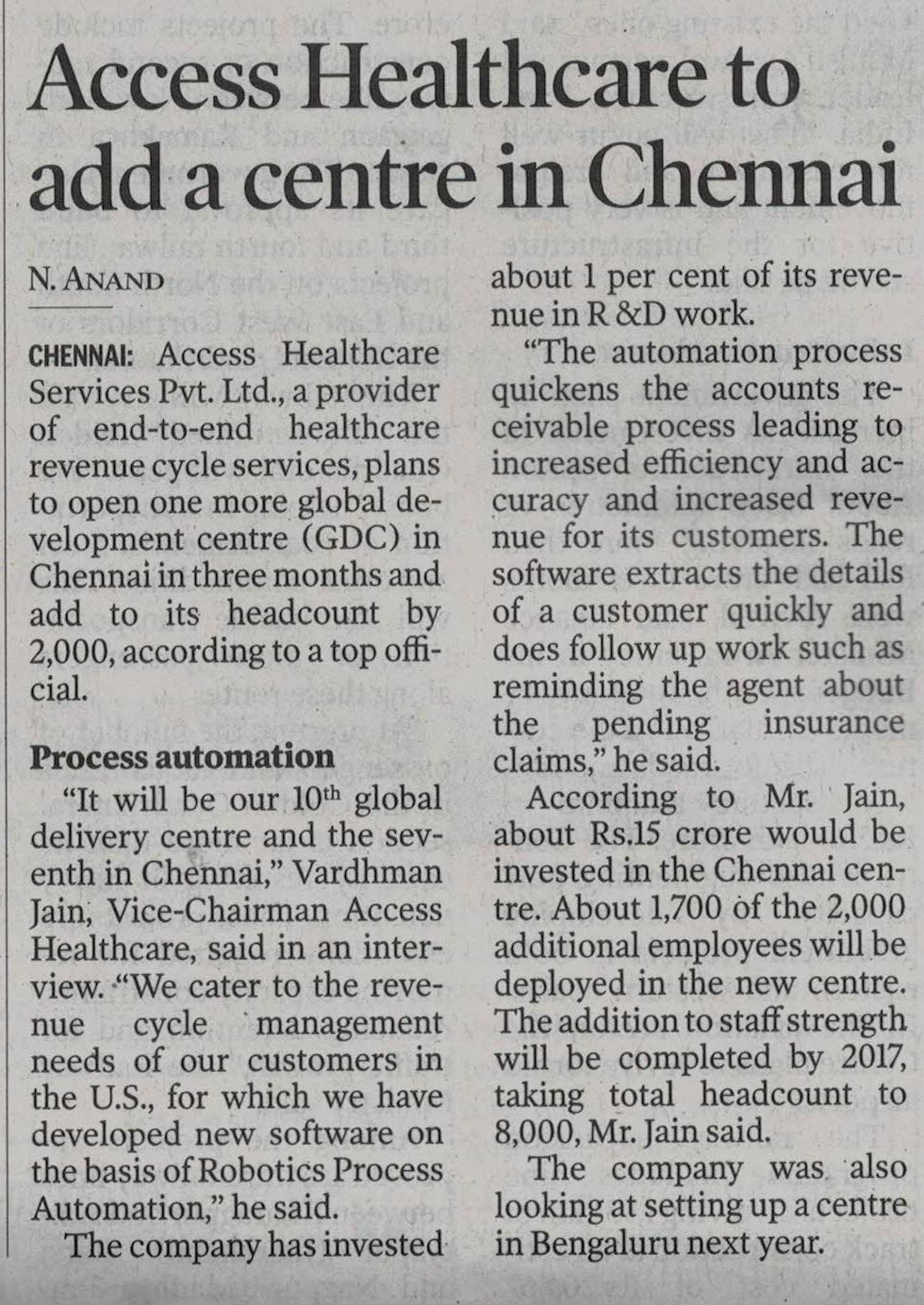 New Indian Express - March 05th 2016 (1).JPG