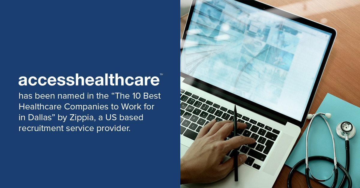 Access Healthcare named in 10 best healthcare companies in Dallas