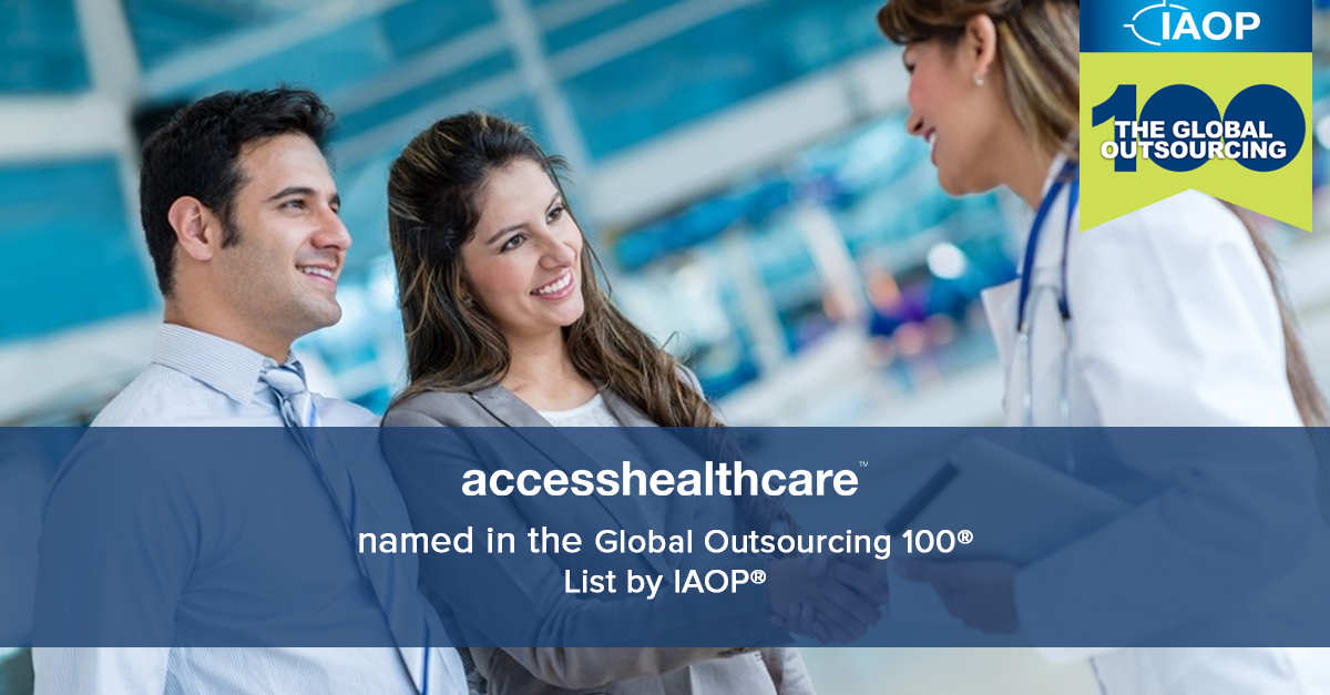 Access Healthcare named in the 2018 Global Outsourcing 100 List by IAOP.JPG