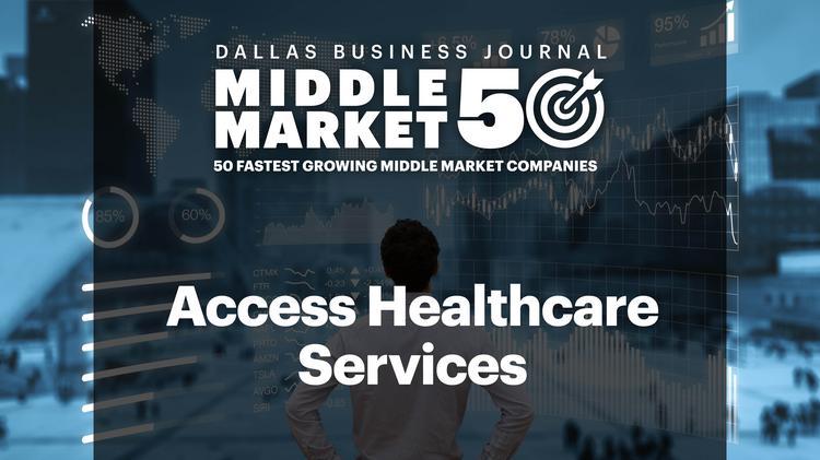 Access Healthcare Dallas Middle Market 50