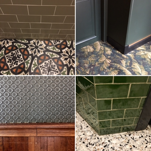 floor and wall coverings