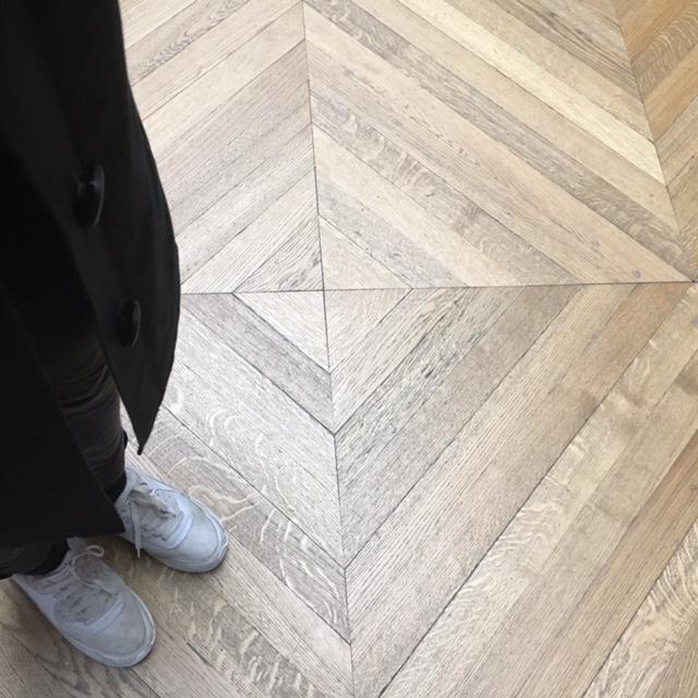 flooring | ages parquet wonders in Le Louvre