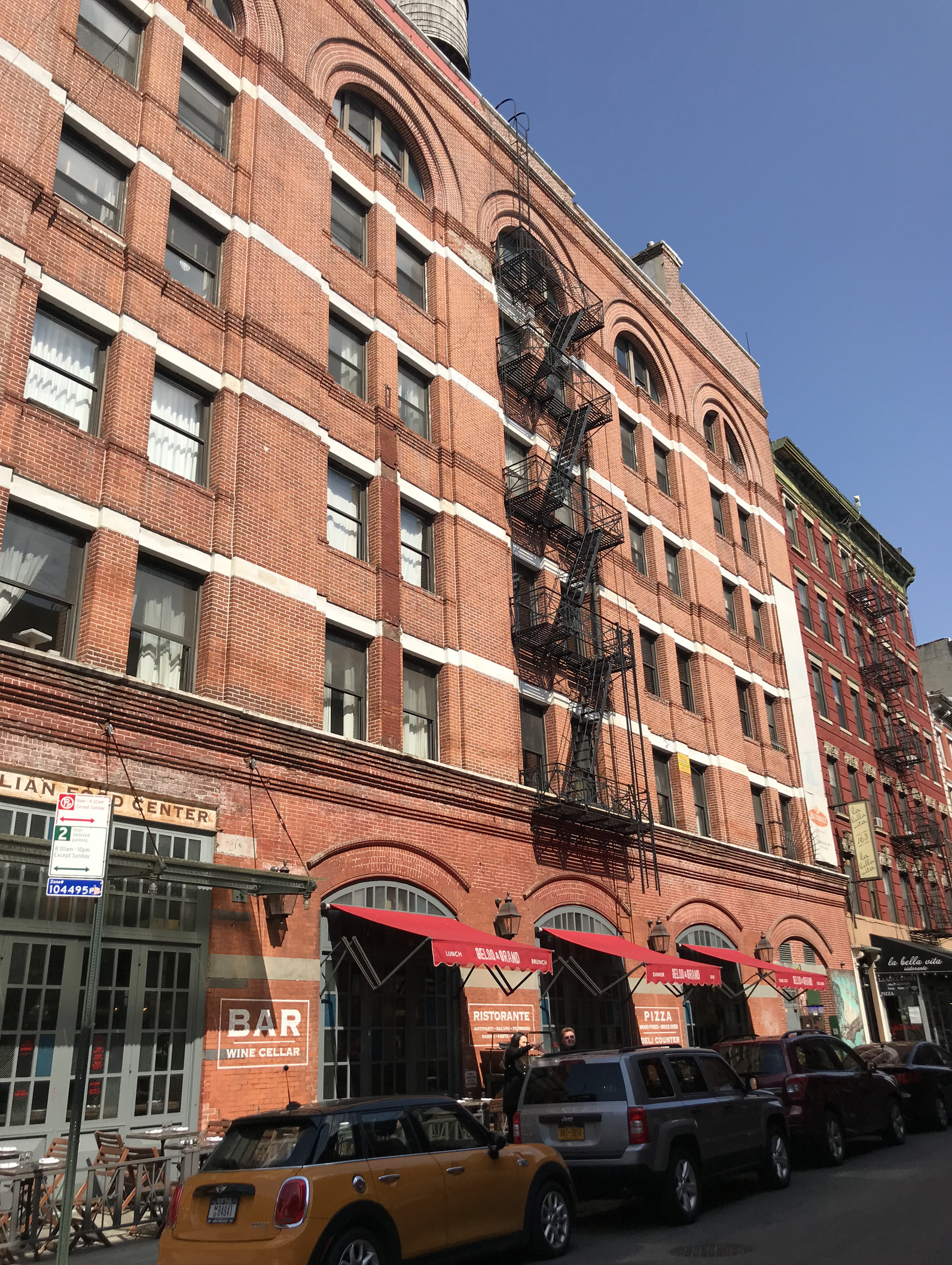 Brownstone beauties in New York City