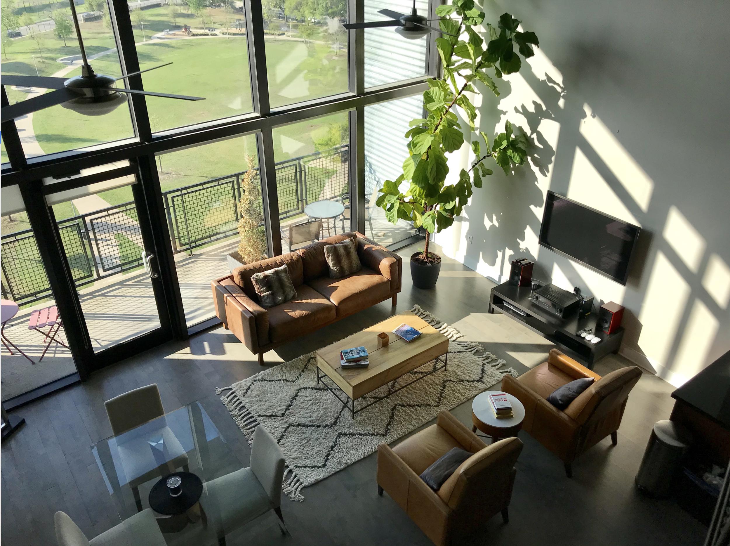 Condo apartment in downtown Dallas