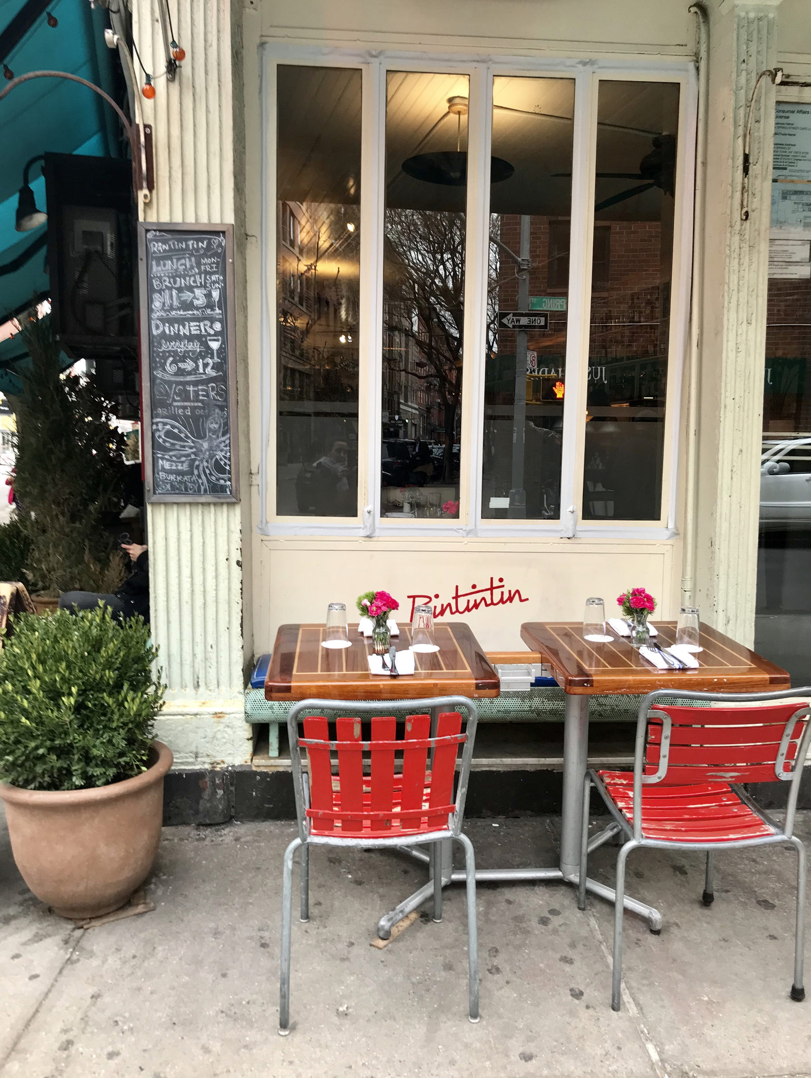 New York bistro in Little Italy