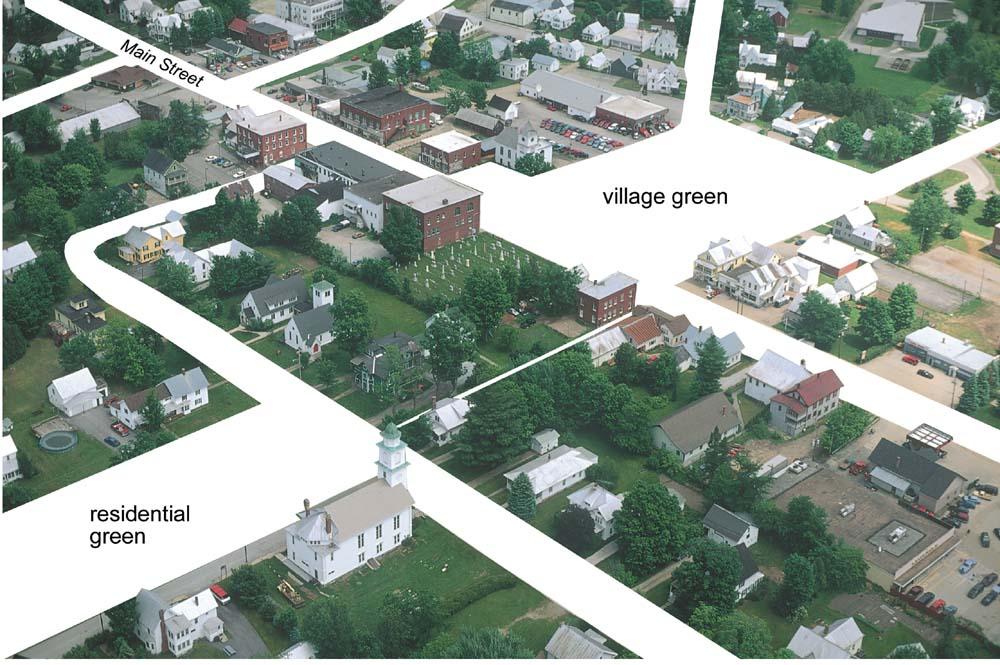 Vermont Land Settlement Patterns