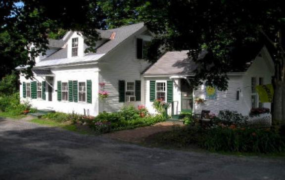 Phoebe's House & Cottage - Location: East Craftsbury VillageDistance: 7 milesHouse sleeps 6, Cottage sleeps 4Price: $125/nightSite: owner's web site