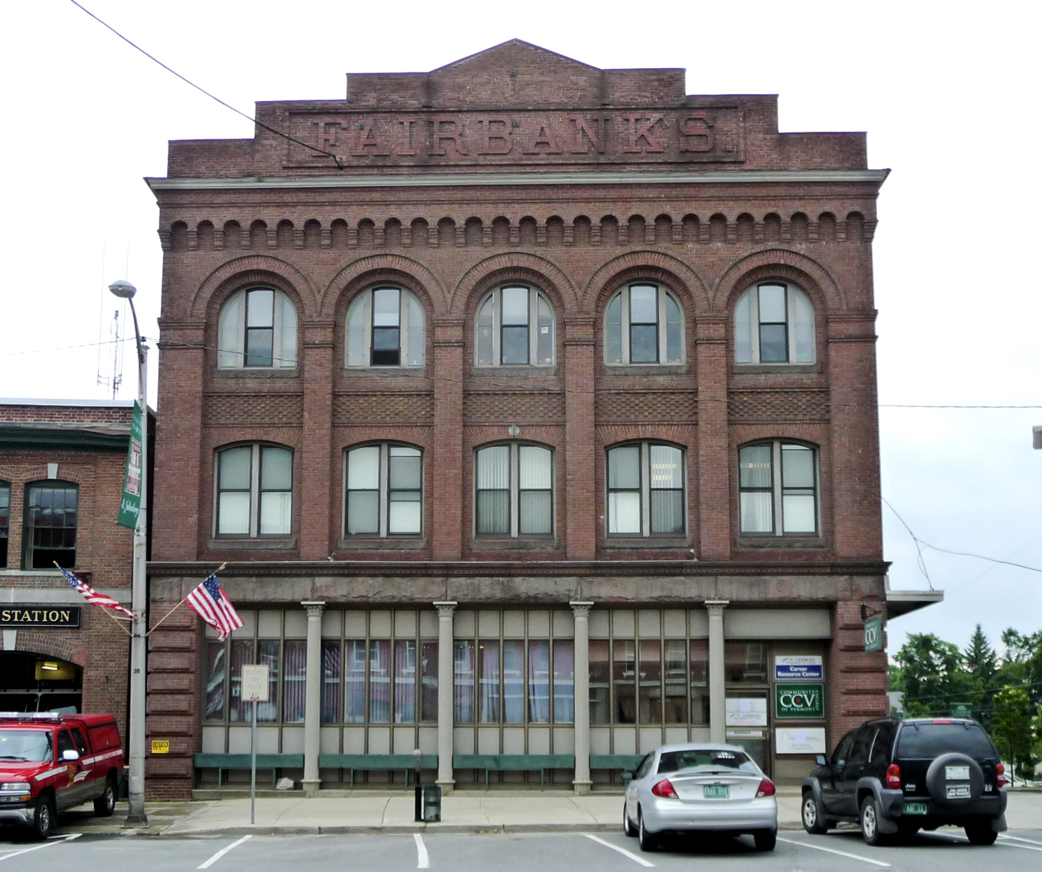 Fairbanks Building, St. Johnsbury