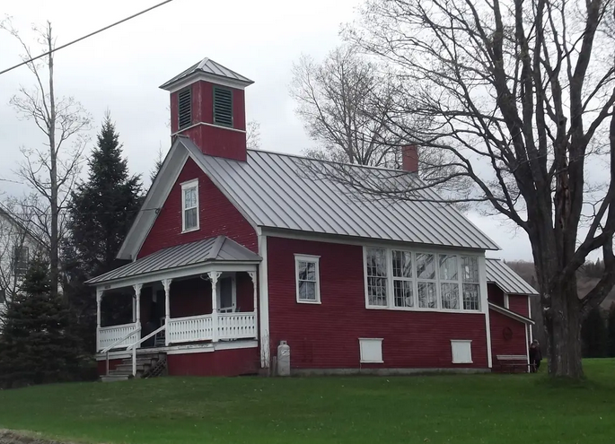 Ann's Schoolhouse - Location: South Albany VillageDistance: 4 milesSleeps 4Price: $125/nightSite: airbnb