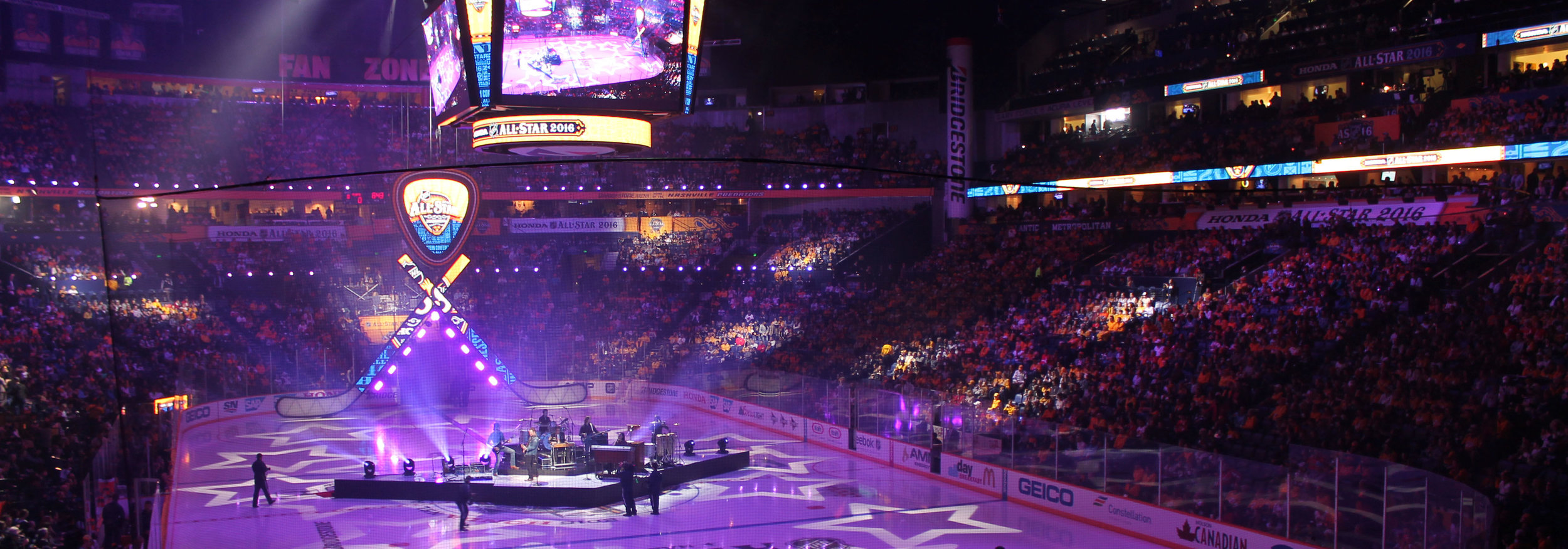 NHL All-Star Weekend: - Creating a memorable fan and player experience across five separate locations.