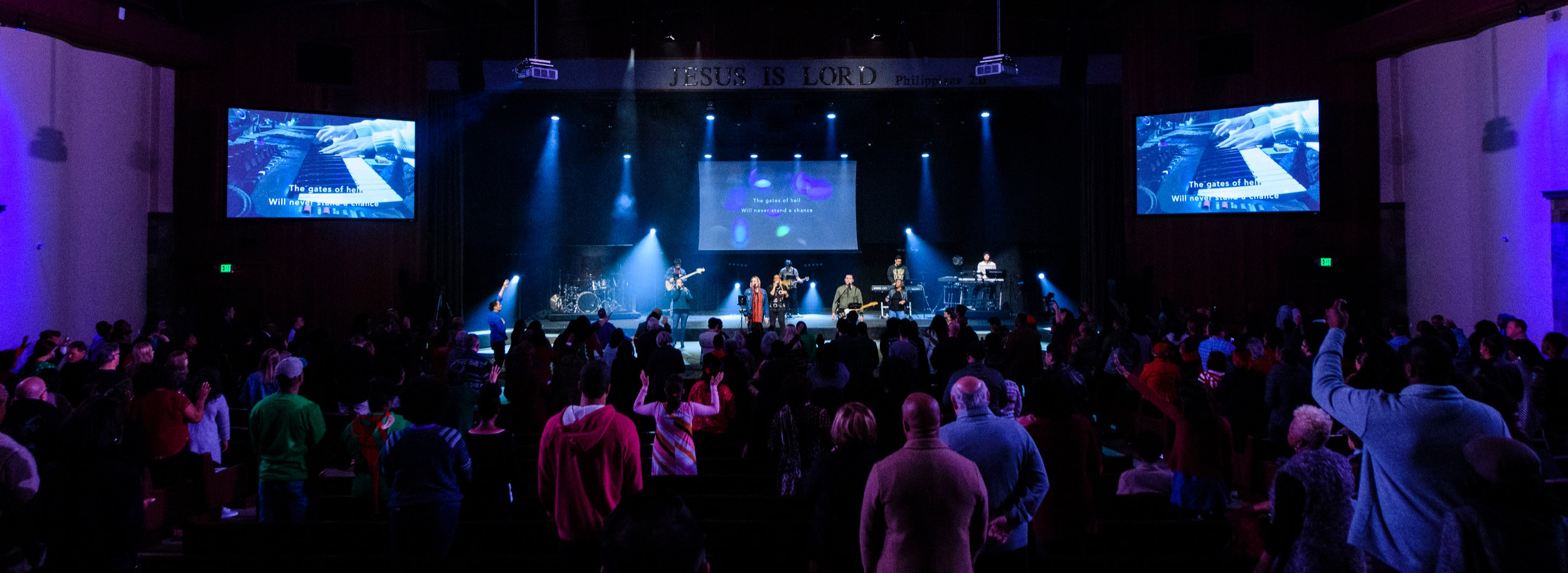 Shiloh Church: - Using technology to create connection.