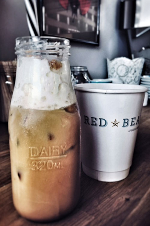 Iced drinks by Red Bean
