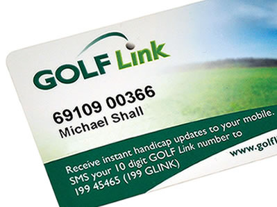 Official Handicap - Your SOGO Golf Membership will come with an Official Golf Link card and Handicap Profile where you can track your Official Handicap and round history.