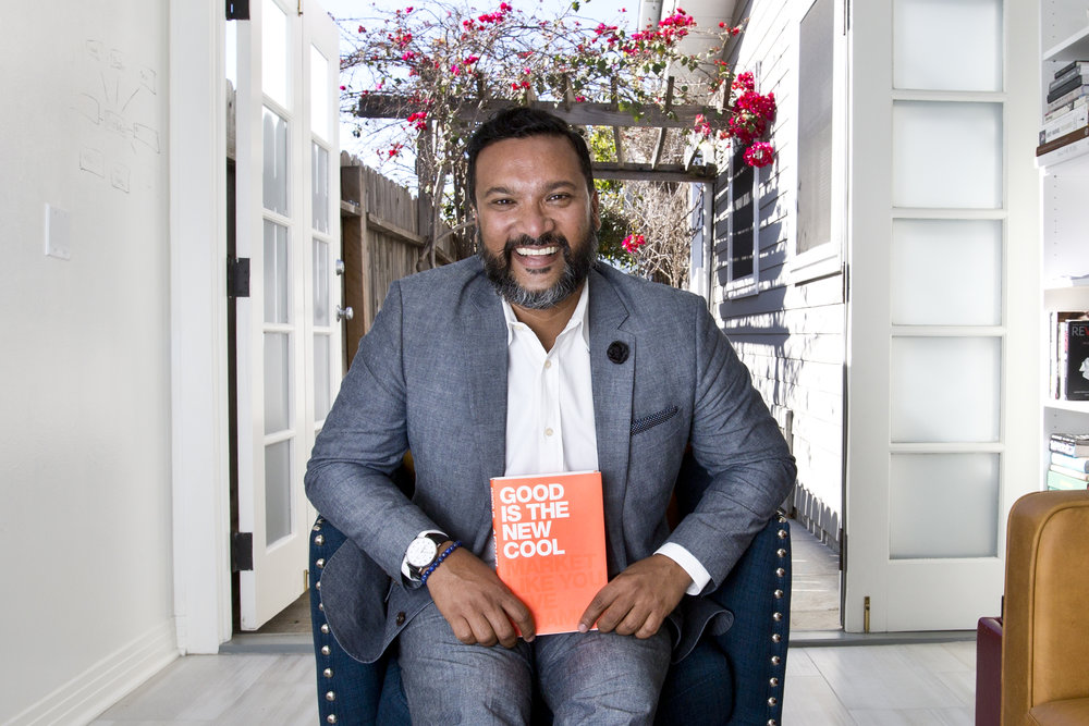 Afdhel Aziz, Best-Selling Author of Good Is the New Cool: Market Like You Give a Damn
