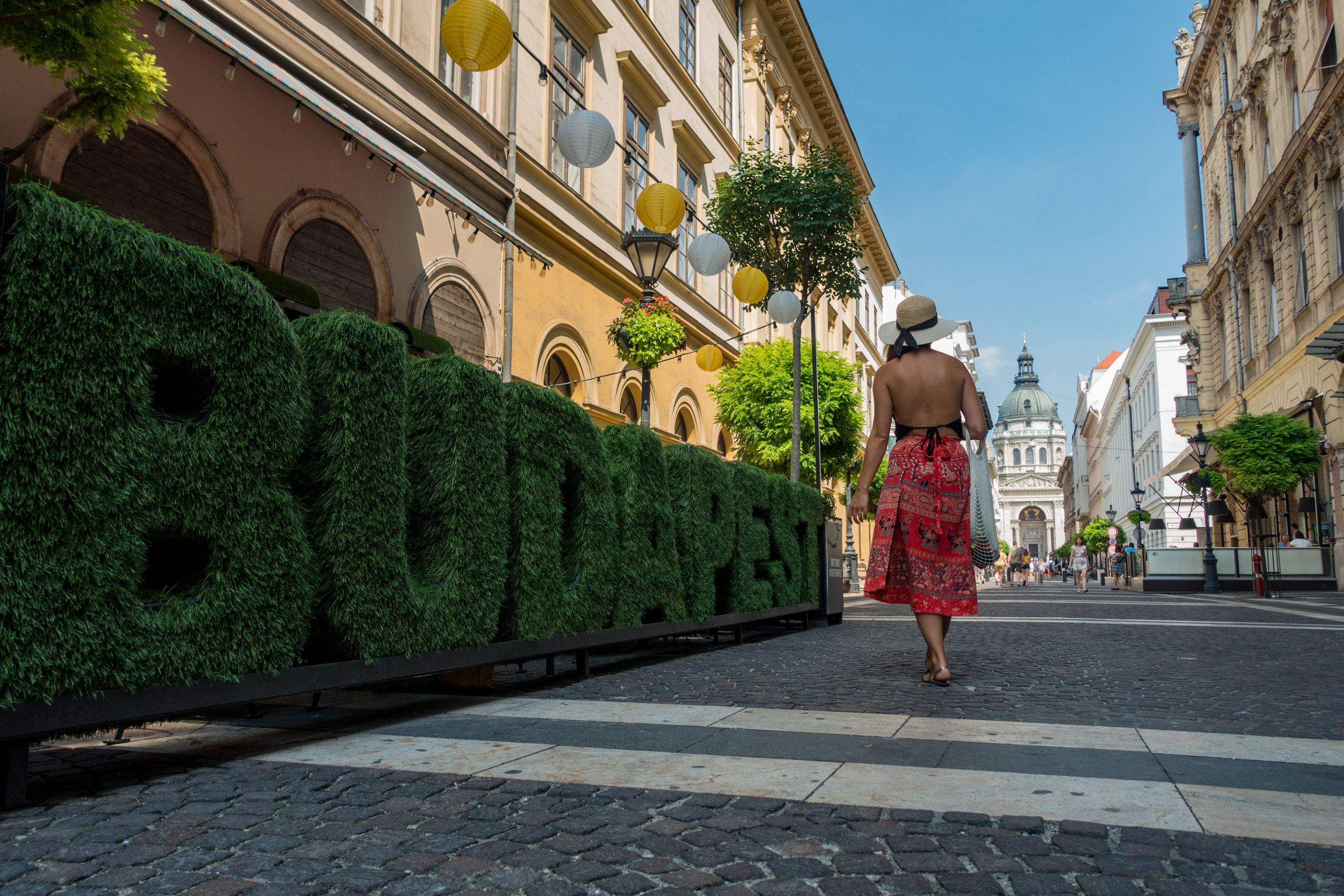 1.)Budapest, Hungary - Parking is freely available in the city and when you are ready to settle in for the night, park overnight for free next to the Szechenyi Baths.