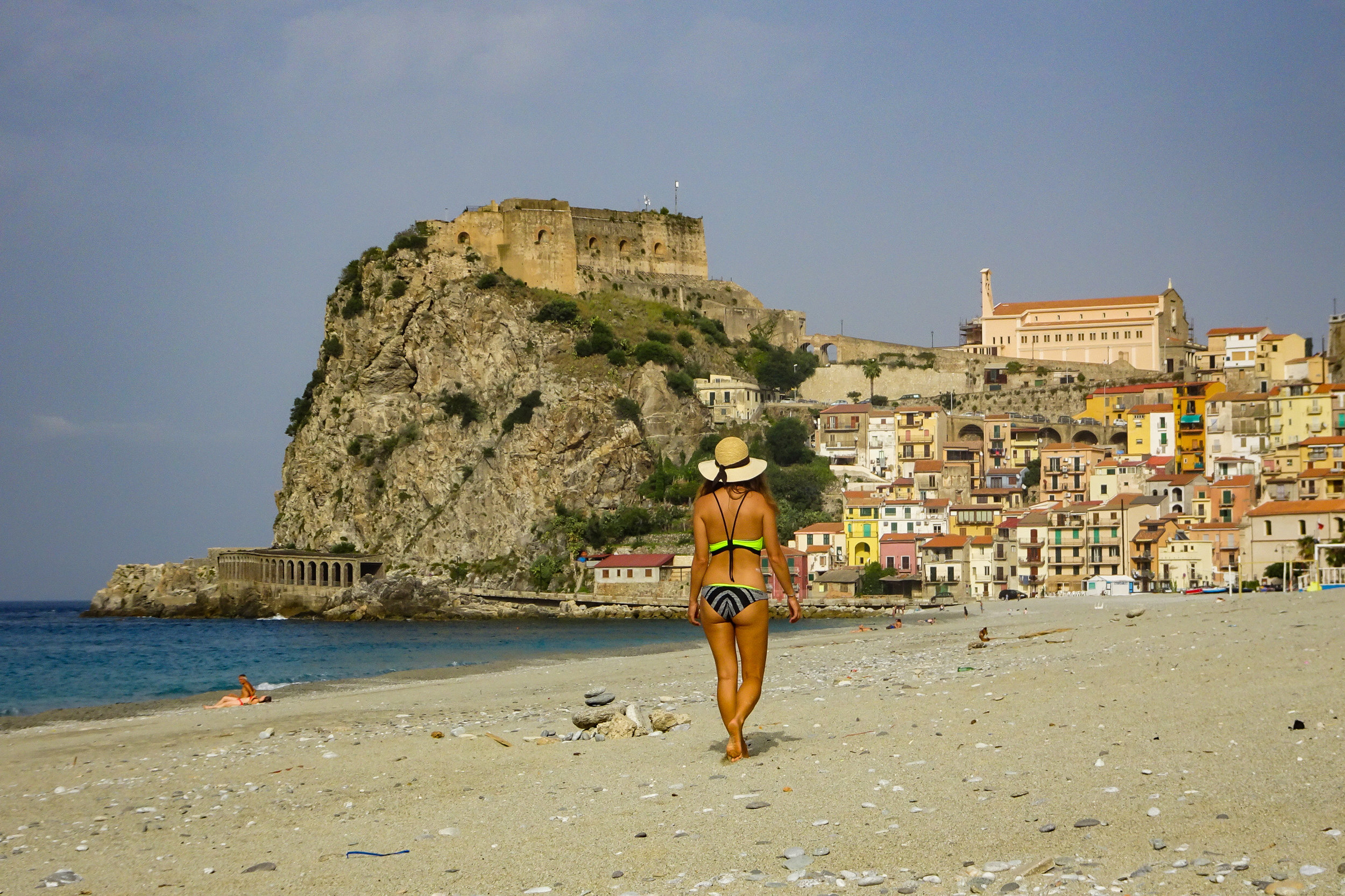 3.)Scilla, Italy - Our favourite beachside spot in all of Italy. The free showers on the beach are the icing on the cake.