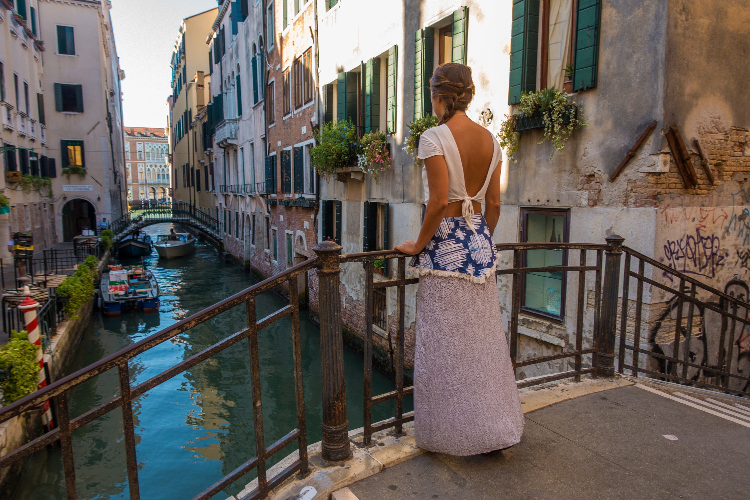 4.)Punta Sabbioni, Italy - The gateway to Venice. You can pay for secure camping and facilities near the ferry terminal and utilise a multiday ferry pass to access the islands.