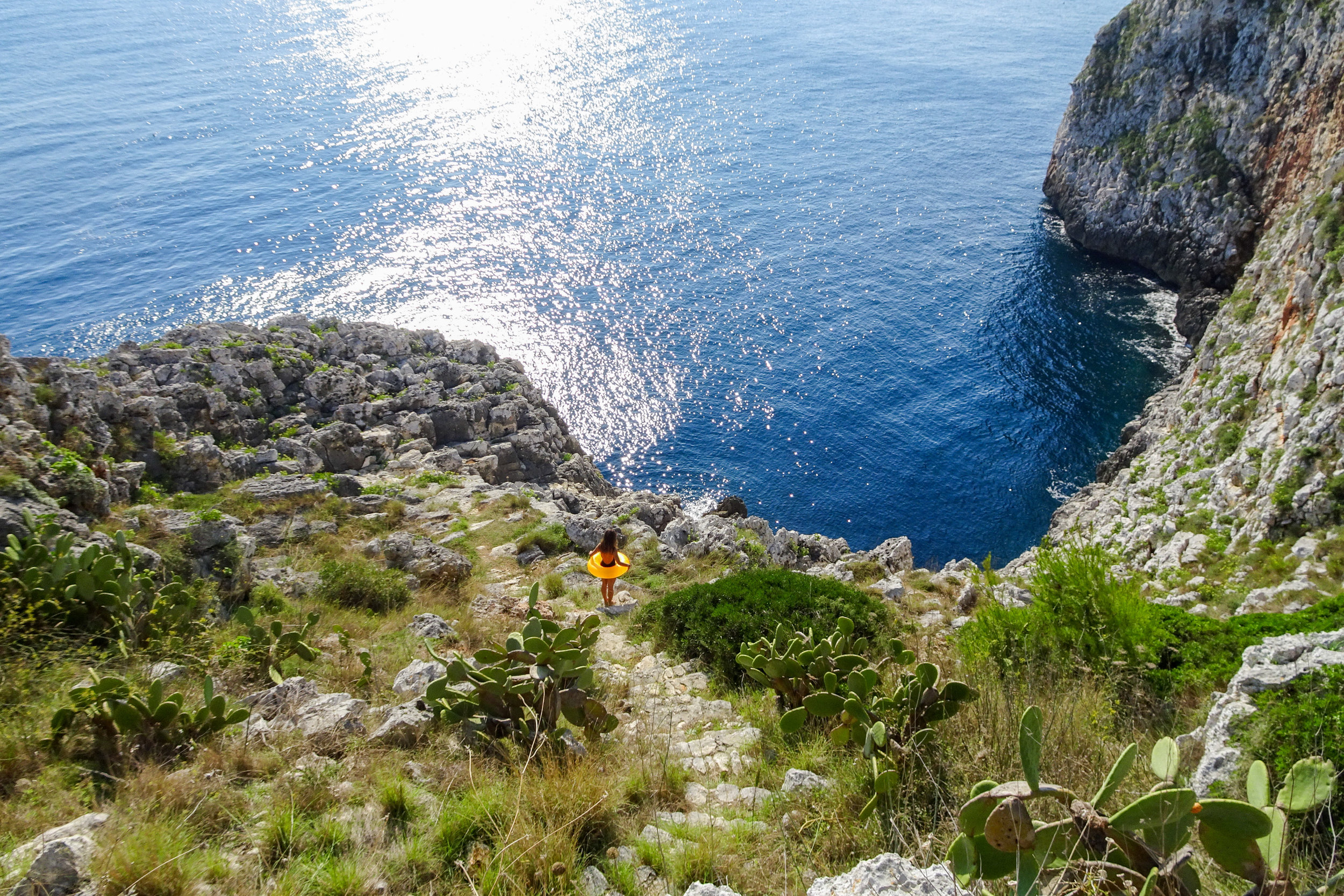 2.) Castro - We spent a few epic days relaxing in the Puglia region with friends. We stayed in the town of Castro and I highly recommend a visit if you are looking for a more authentic Italian experience. Prepare to be blown away by the lovely beaches and amazing food.