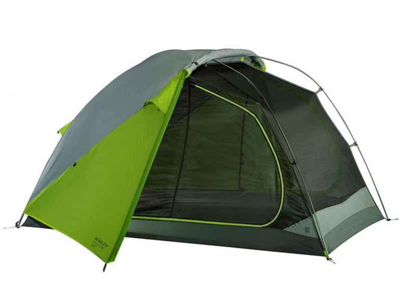 7.)Kelty TN2 Tent - A high-tech easy to assemble tent with a completely separate mesh inner shell. Roll back the outer shell and you can sleep under the stars while still protected from mosquitos.