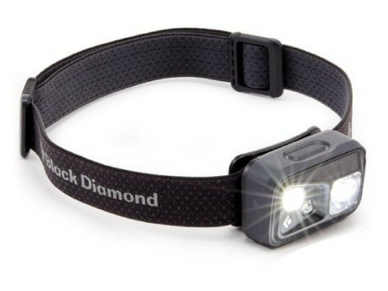 6.)Black Diamond Revolt USB Rechargable Headlamp - There is nothing we find quite so annoying as having to replace batteries. Black Diamond rechargeable head torches are our go to. No more scrambling around in your camping gear for batteries, simply charge them with the usb adaptor. Black Diamond also have great customer service if you have any issues with your headlamps.