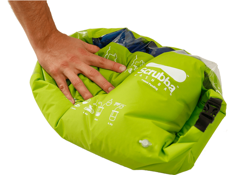 19.)Scrubba Wash Bag - For longer trips, washing your clothes is a massive pain. The Scrubba bag allows you to do your laundry with minimal water and fuss.