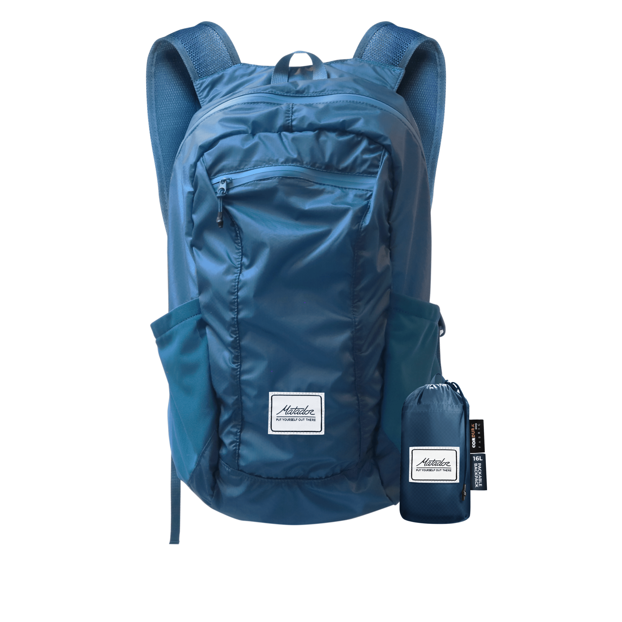 8.) Matador Daylite 16 Packable Backpack - Our go to day bags. I travel everywhere with one of these tucked into my bag ready to use. The double mesh pockets mean that we can tackle early morning hikes with a flask of coffee and bottle of water.